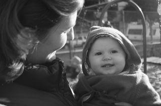 Maelys au playground
