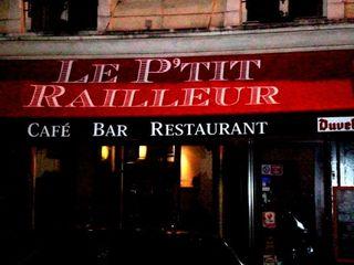 Le P'tit Railleur (Metro Republique)