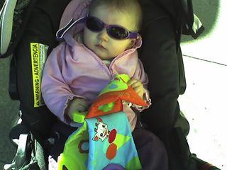 au point d'avoir besoin de lunettes de soleil !